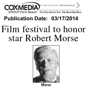 Robert Morse Palm Beach Post 3 17 2014