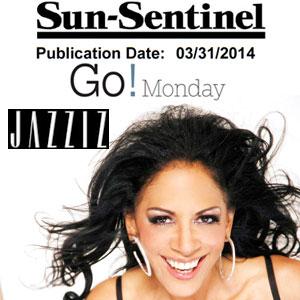 Jazziz Sun Sentinel March 31 2014