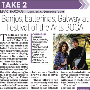 Festival of the arts BOCA Sun Sentinel 11262014