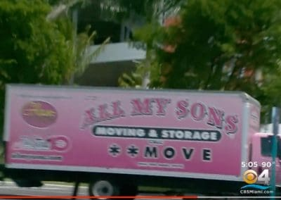 All My Sons Moving & Storage WFOR 09012017