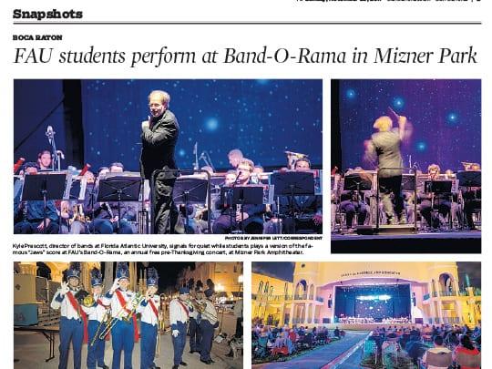 Sun-Sentinel story of Mizner Park event - Polin PR