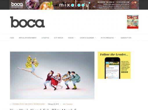 Festival of The Arts BOCA BocaMag.com 022618