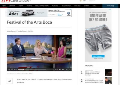 Festival of The Arts BOCA CBS12 021318