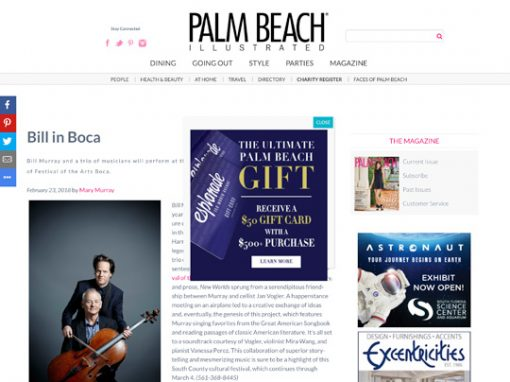 Festival of The Arts BOCA Palm Beach Illustrated 022318