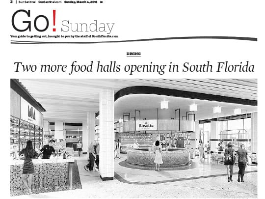 Sun-Sentinel Go! Guide placement by Polin PR