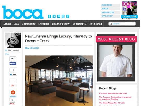 Silverspot Cinema on BocaMag.com