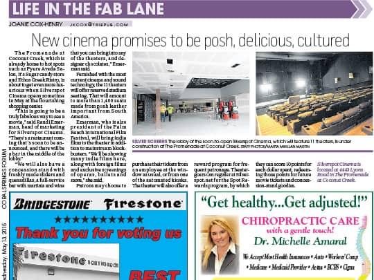 Silverspot Cinema Sun Sentinel article