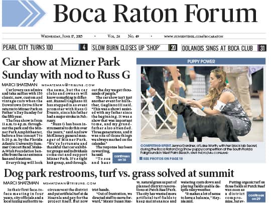 Polin PR Mizner Park Boca Raton Forum placement