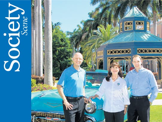 Polin PR Mizner Park Car Show Sun Sentinel