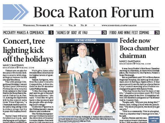 Polin PR Mizner Park placement Boca Raton Forum