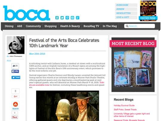 Polin Pr Festival of the Arts BOCA BocaMag.com