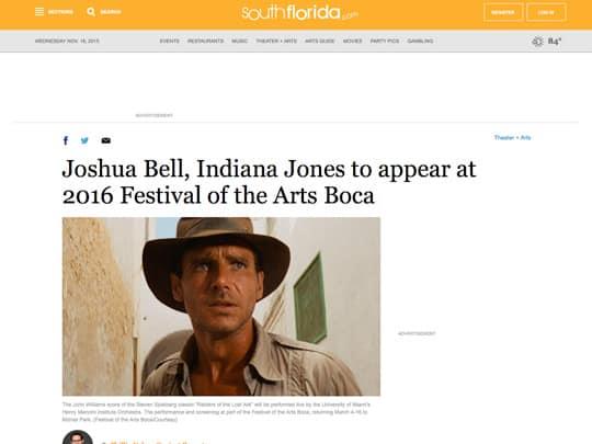 Polin PR Festival of the Arts BOCA SouthFlorida.com cover