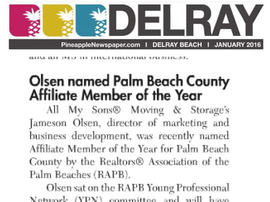 Polin PR All My Sons Pineapple News Jan 2016