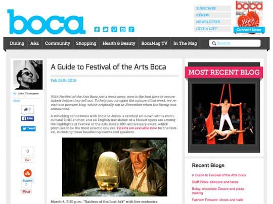 Polin PR BocaMag.com cover story