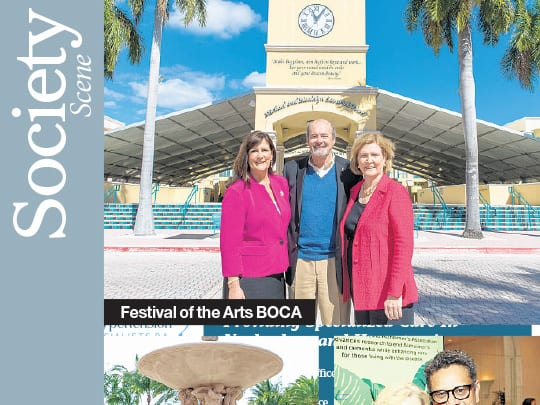 Cover of Society Scene for Festival of the Arts BOCA