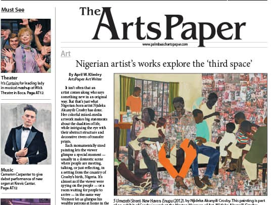 Cover of Arts Paper section of Coastal Star
