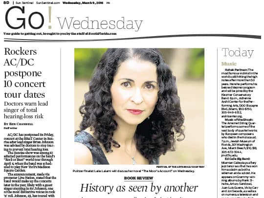 Go Wednesday story on Laila Lalami