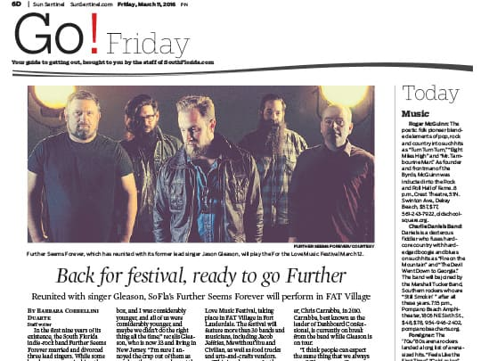 Go! Friday newspaper screenshot