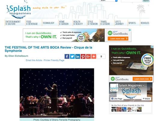 miamisplash.com screenshot cirque de la symphonie review
