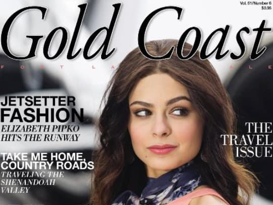 Cover Gold Coast Magazine Polin PR placement