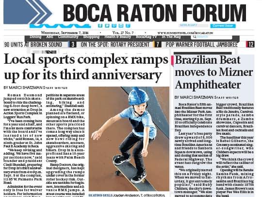 Cover of Boca Raton Forum - Brazilian Beat story