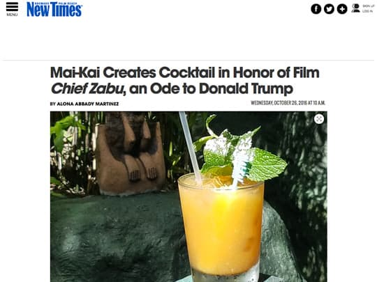 New Times story on Chief Zabu