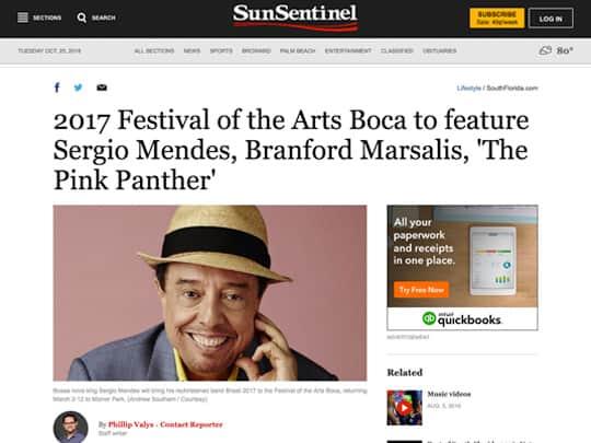 Festival of the Arts Boca 2017 schedule announcement Sun-Sentinel.com
