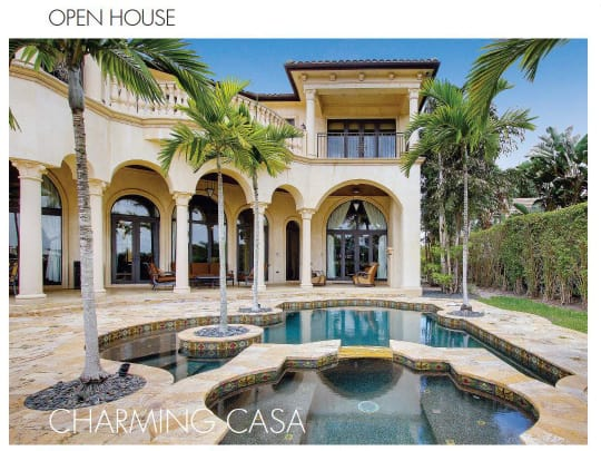 Palm Beach Illustrated picture of House built by Lang Realty