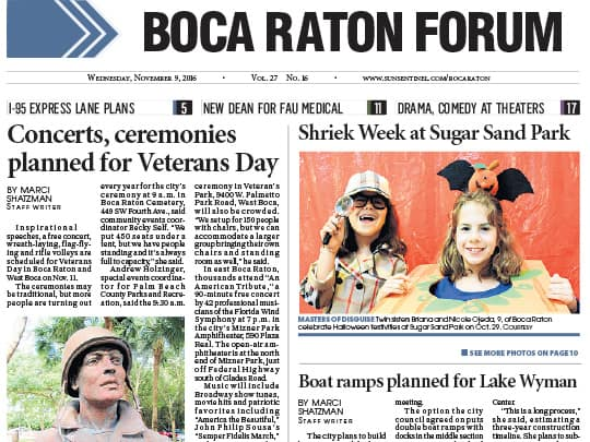 Boca Raton Forum article