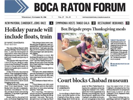 City of Boca Raton - Boca Raton Forum 113016