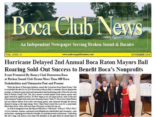 Festival of the Arts BOCA article in Boca Club News