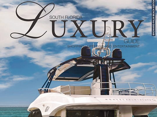 South Florida Luxury Guide Magazine cover