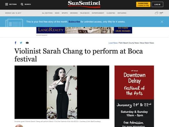 Sun-Sentinel.com article