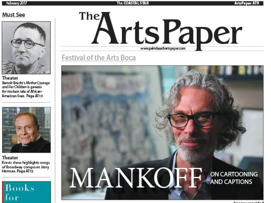 The Coastal Star Arts Paper Mankoff cover