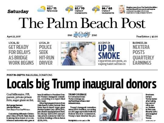 The Palm Beach Post April 22, 2017