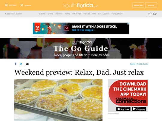 SouthFlorida.com Polin placement for City of Boca Raton