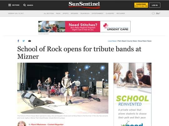 Sun-Sentinel.com article on City of Boca Raton