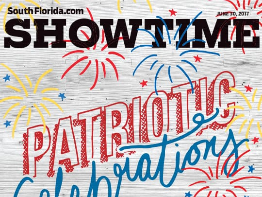 Sun-Sentinel Showtime section cover art