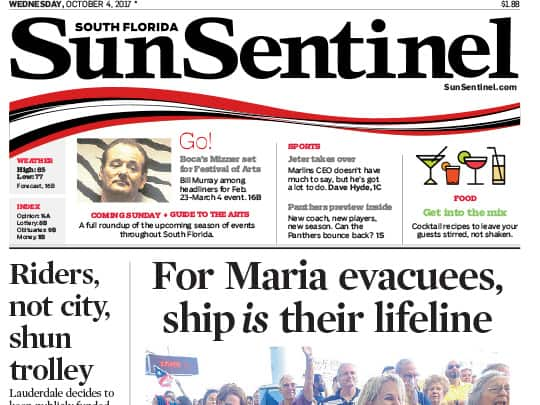 Festival of the Arts BOCA story in Sun-Sentinel placed by Polin PR