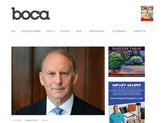 bocamag.com article placed by Polin PR for Festival of The Arts BOCA