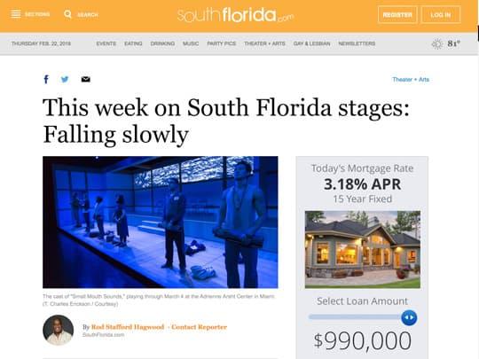 Southflorida.com placement by Polin PR