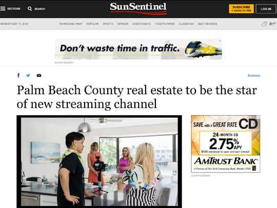 Polin PR Placement - SunSentinel.com, Greater Realtors W Palm Beach Ft Lauderdale