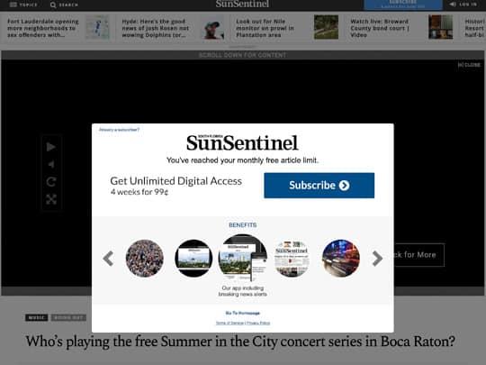 polin pr placement sun-sentinel.com