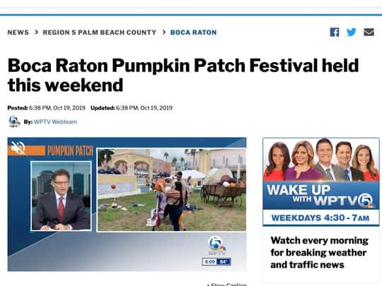 Polin PR placement WPTV.com - City of Boca Raton