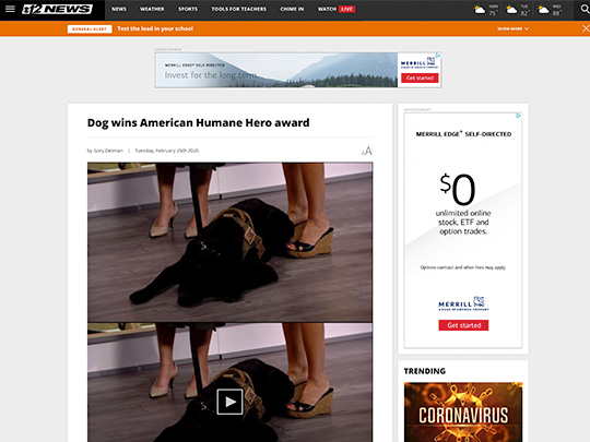 Polin PR placement for American Humane