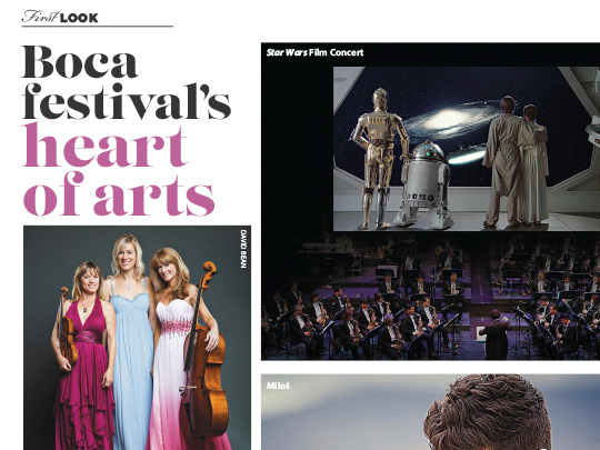 Polin PR placement in City and Shore Magazine for Festival of The Arts BOCA
