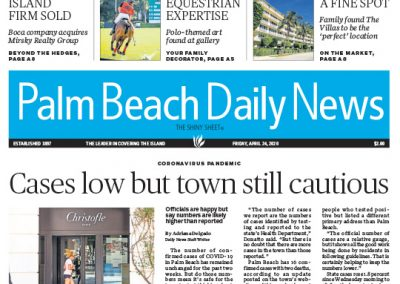 Lang Realty Palm Beach Daily News 04242020