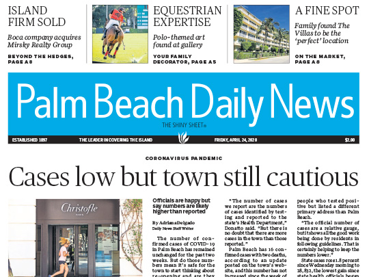 Polin PR placement, Palm Beach Daily News for Lang Realty