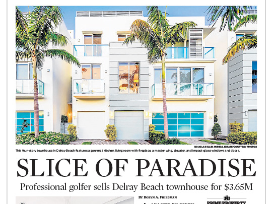 Polin PR placement Sun-Sentinel for Lang Realty