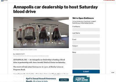 Sheehy Lexus Anapolis WMAR2news.com 04022020